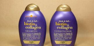 review dầu gội biotin & collagen
