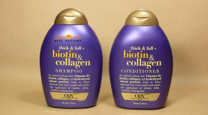 review dầu gội biotin & collagen