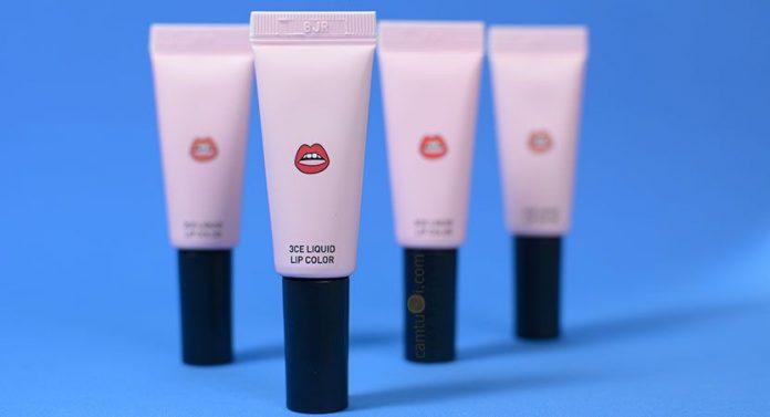 �ล�าร���หารู��า�สำหรั� 3ce liquid lip color