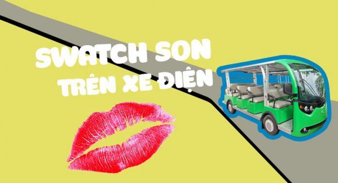 Thu-thach-swatch-son-tren-xe-dien