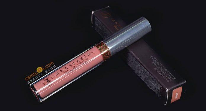Review son kem lì Anastasia Liquid Lipstick