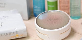 Review phấn nước Laneige BB Cushion Anti-aging