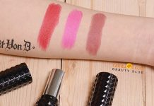Review son Kat Von D Studded Kiss Lipstick