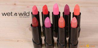 Review son Wet n Wild Silk Finish Lipstick