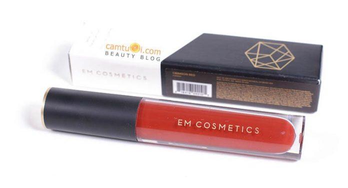 Review son kem lì EM Cosmetics Infinite Lip Cloud