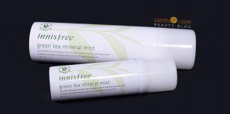 Review xịt khoáng trà xanh Innisfree Green Tea Mineral Mist