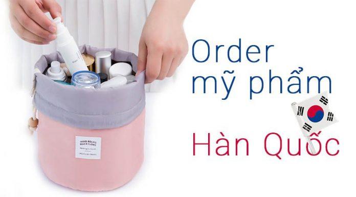 order mỹ phẩm Hàn Quốc