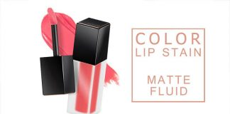 Review son kem lì A'pieu Color Lip Stain Matte Fluid