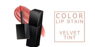 Review son kem A'pieu Color Lip Stain Velvet Tint