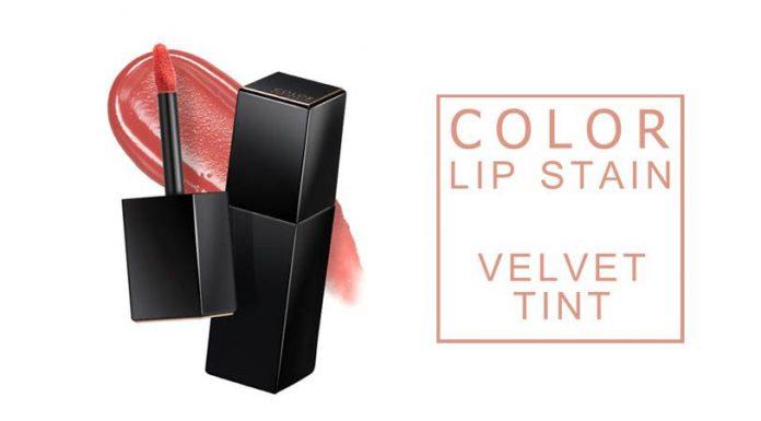 Review son kem A'pieu Color Lip Stain Velvet Tint