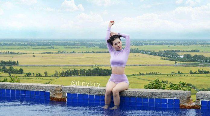 trang điểm đi bơi