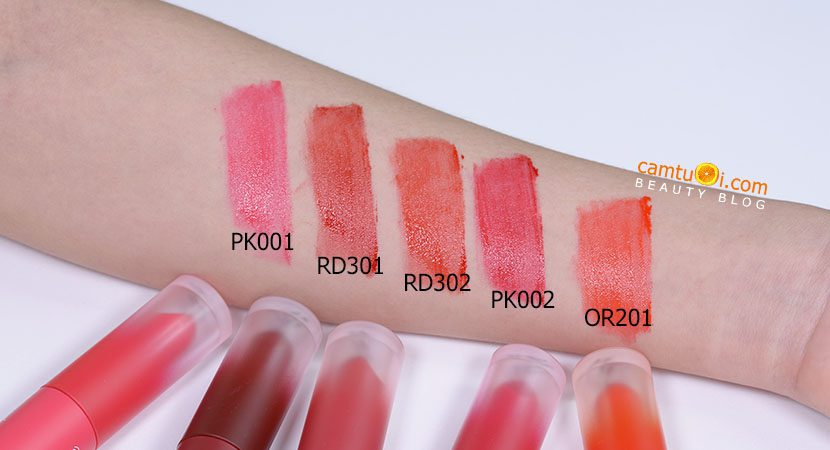 bảnh màu son kem Etude House Color In Liquid Lips Mousse