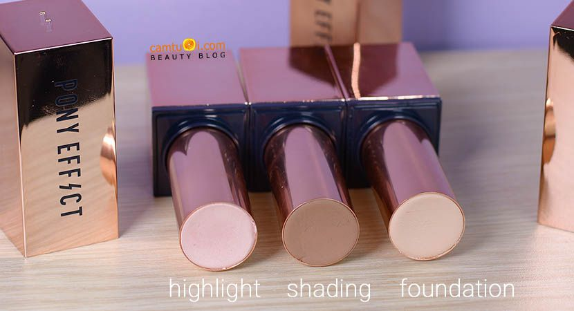 Review kem nền thỏi son Pony Effect Arti-Stick Foundation