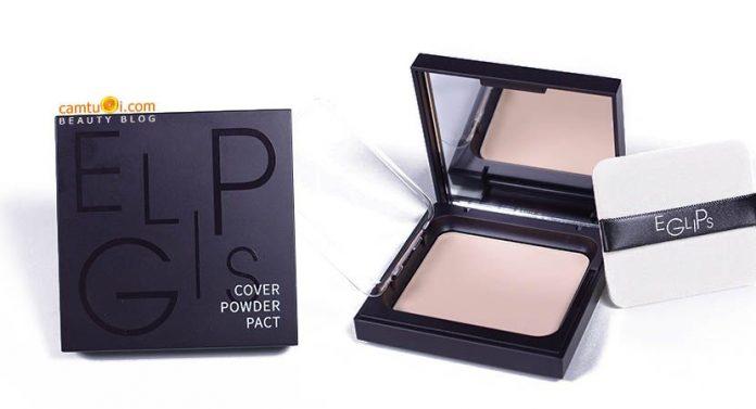 Review phấn nén Eglips Cover Powder Pact