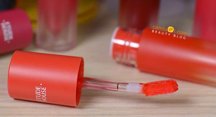 Review son kem Etude House Color In Liquid Lips Mousse