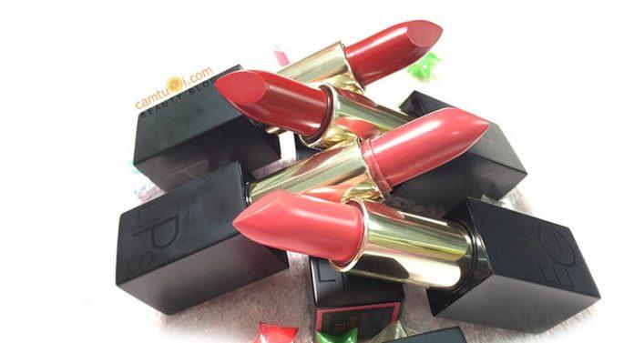 Review son Eglips Golden Shimmer Lipstick