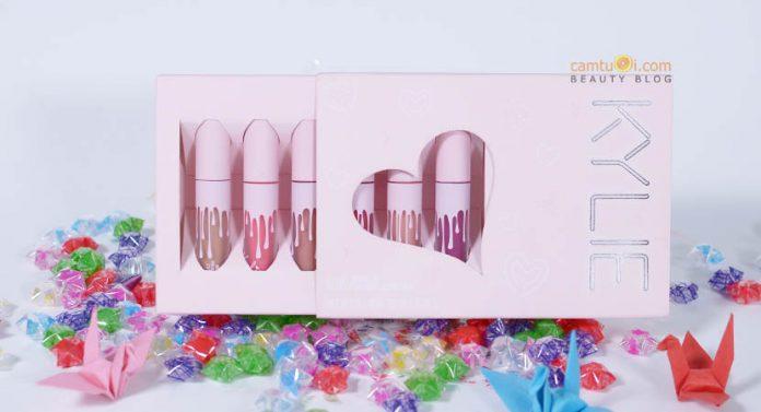 Review son Kylie Velvet Lipquid Lipstick