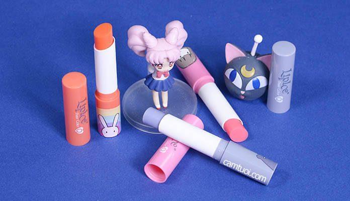 Review son Lipice Sheer Color Q Bestie phiên bản Thỏ 7 Màu