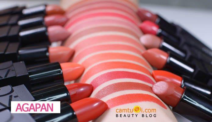 Bảng màu son Agapan Pit A Pat Matte Lipstick