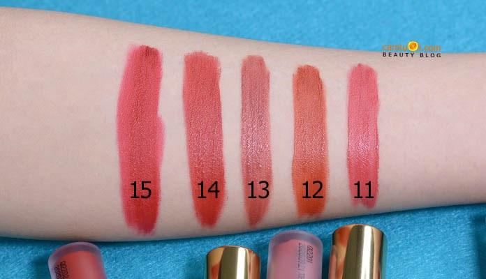Review son kem Bbia Last Velvet Lip Tint Version 3 Boss series