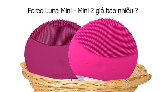 Máy rửa mặt Foreo Luna Mini giá bao nhiêu