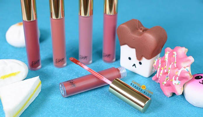 Review son kem Bbia Last Velvet Lip Tint Version 3 Boss series