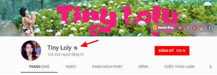 cách tạo huy hiệu xác minh kênh Youtube