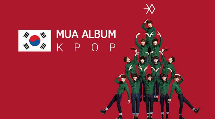 mua album kpop