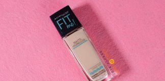 Review kem nền Maybelline New York Fit Me