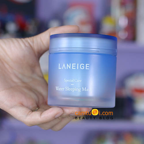 Review mặt nạ ngủ Laneige Water Sleeping Mask
