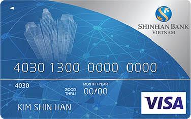 thẻ visa shinhanbank