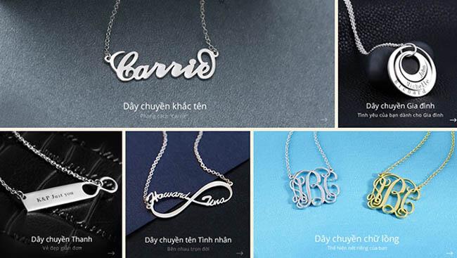 trang sức Soufeel Jewelry