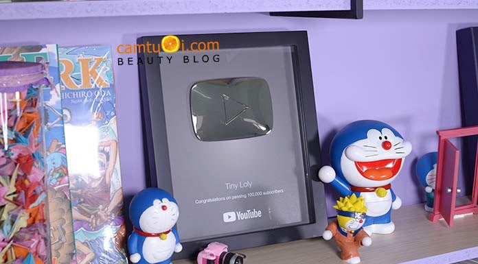 nút bạc youtube