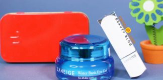 Review kem dưỡng mắt Laneige Water Bank Eye Cream