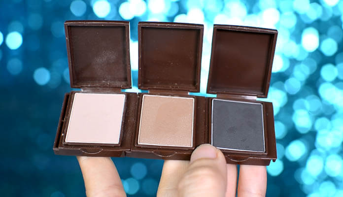 Review màu mắt 16Brand Brickit Shadow Matt Line