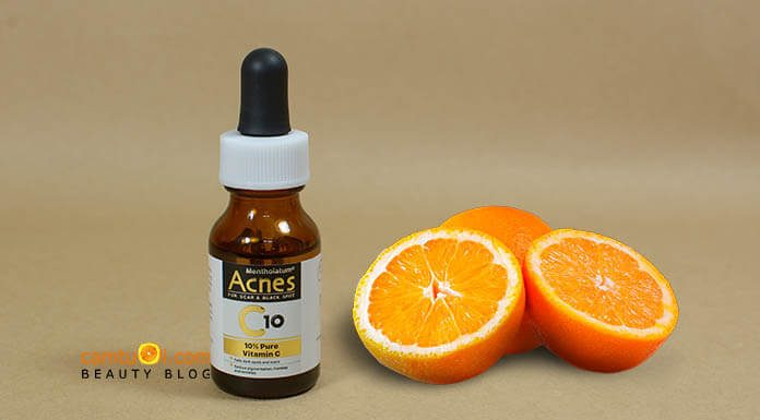 Review Vitamin C dưỡng da Acnes C10