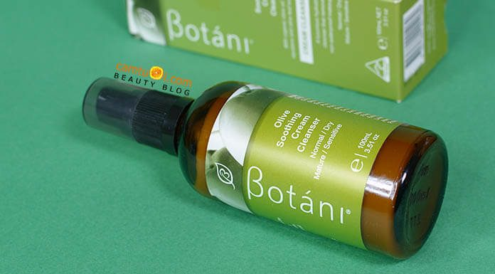 Review kem rửa mặt Botáni Olive Soothing Cream Cleanser