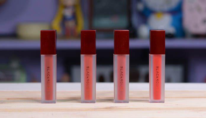 Review son kem Black Rouge Air Fit Velvet Tint