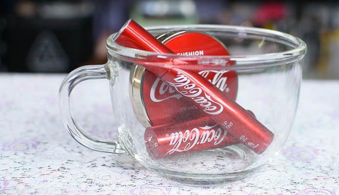mỹ phẩm The Face Shop x Coca Cola
