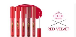 Review son kem Etude House x Red Velvet