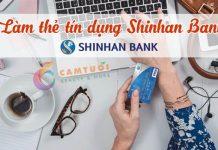 làm thẻ tín dụng shinhan bank