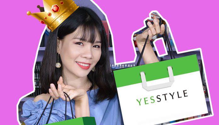 order mỹ phẩm Hàn Quốc trên Yesstyle