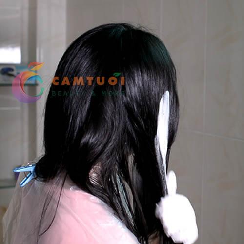 Review dầu gội nhuộm tóc Etude House