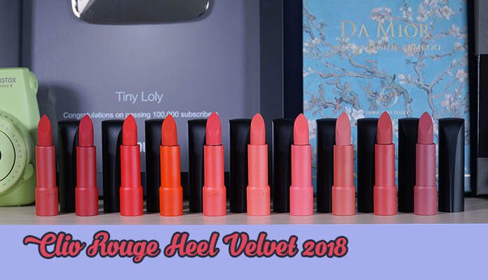 review son Clio Rouge Heel Velvet