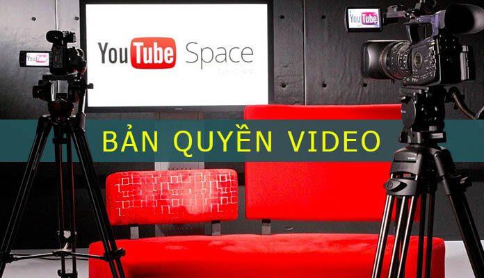 bản quyền youtube