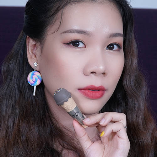 Review son kem ốc quế The Face Shop Gelato Tint