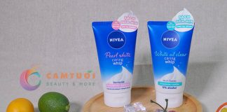 Review sữa rửa mặt tạo bọt NIVEA Caring Whip