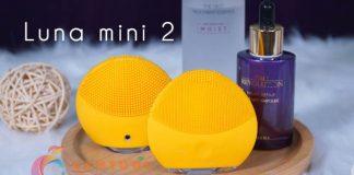 máy rửa mặt foreo luna mini 2 review