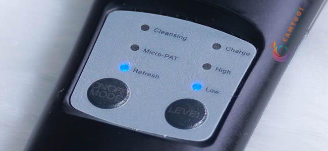 review máy chăm sóc da mặt tại nhà Pebble Fleur