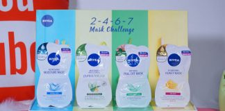 Review mặt nạ NIVEA 2-4-6-7 Mask Challenge